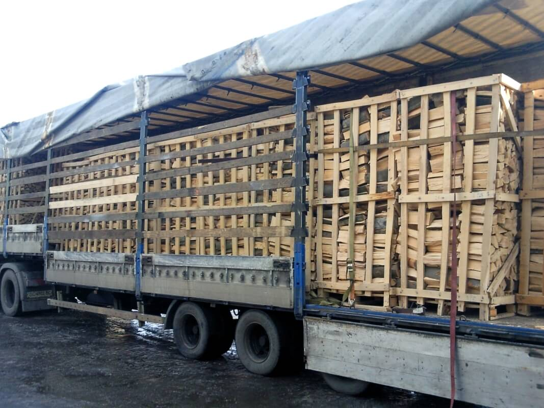 LLC IE Ukrlisexport, we produce and export fuel firewood